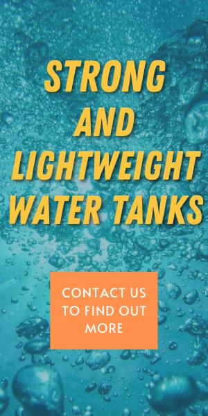 STRONG LIGHTWEIGHT WATER TANKS